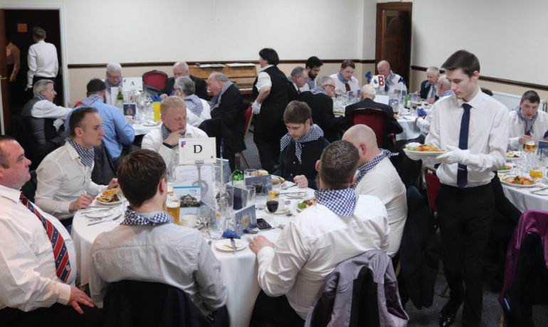 Iron Road Lodge hold a traditional Old English Night