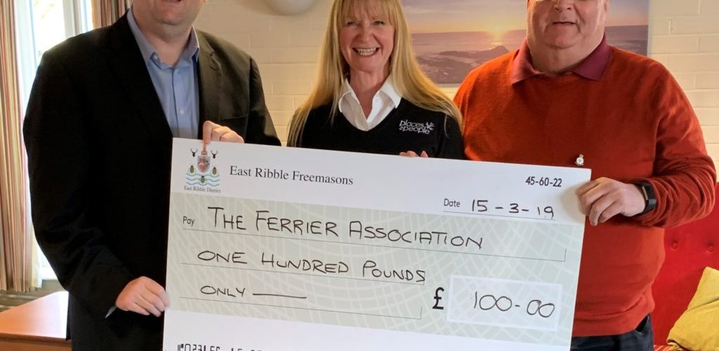 Cheque Presentation for Ferrier Court