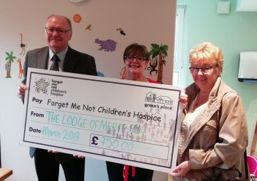 Lodge of Merit 934 Supports Children's Hospice