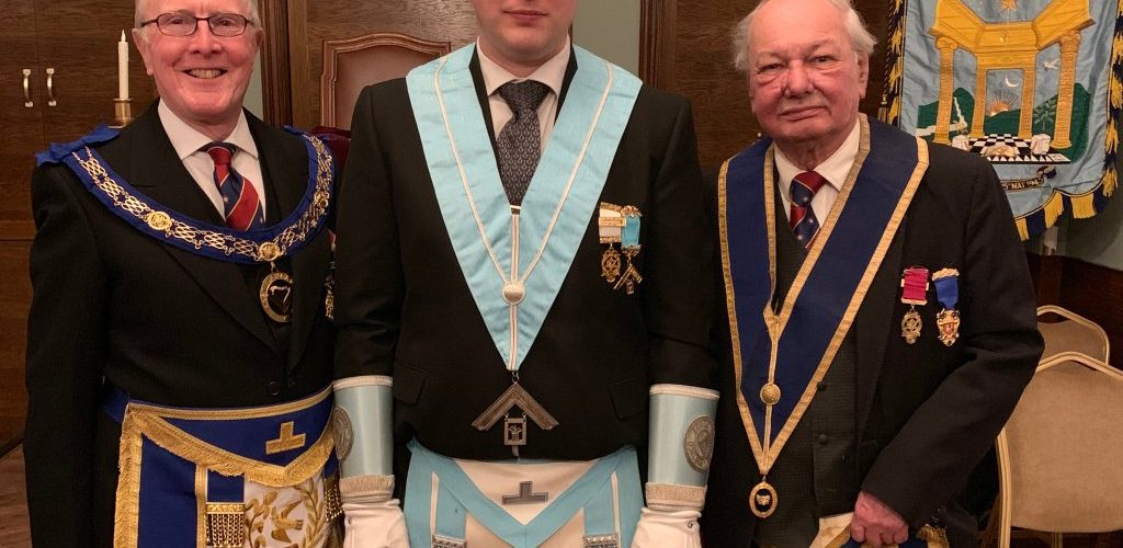 Assistant Provincial Grand Master visits Portico Lodge, No 6070
