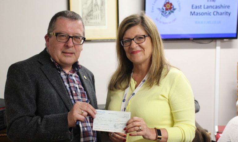 Bury District Charity Stewards Donate £2000 to the ELMC