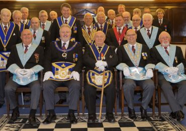 WBro Gordon Neale, PProvGSwdB, celebrates 50 years as a Freemason