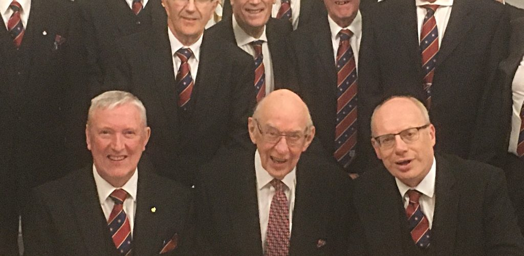Fred Chorlton – 50 years in Royal Arch Freemasonry in Volunteer Chapter