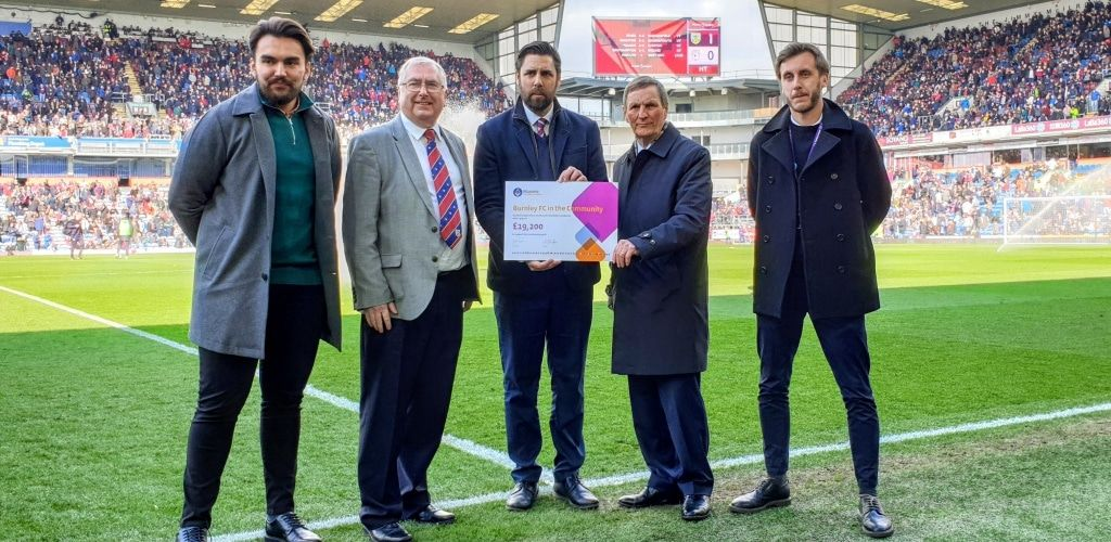 MCF Grant to Burnley F C in the Community