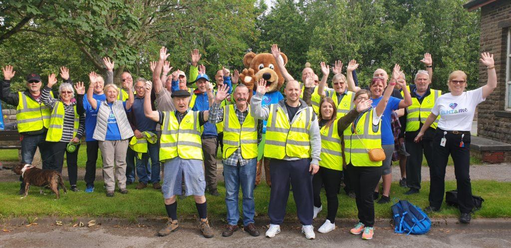 Marshalling the NHS Big Walk