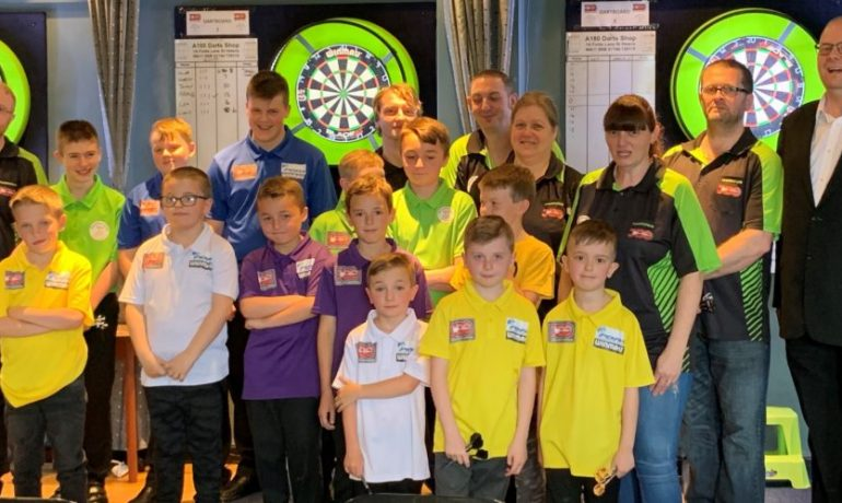 More Than '180!' for Blackburn Youth Darts Academy