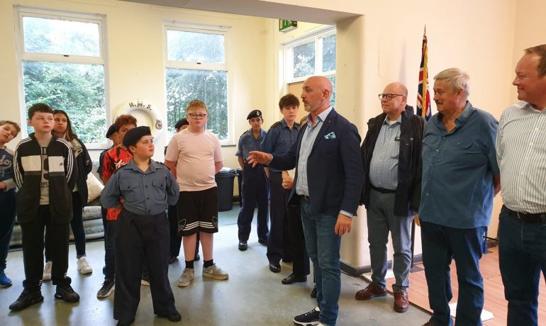 Bolton 100 Club and Lodges donate to Bolton Sea Cadets