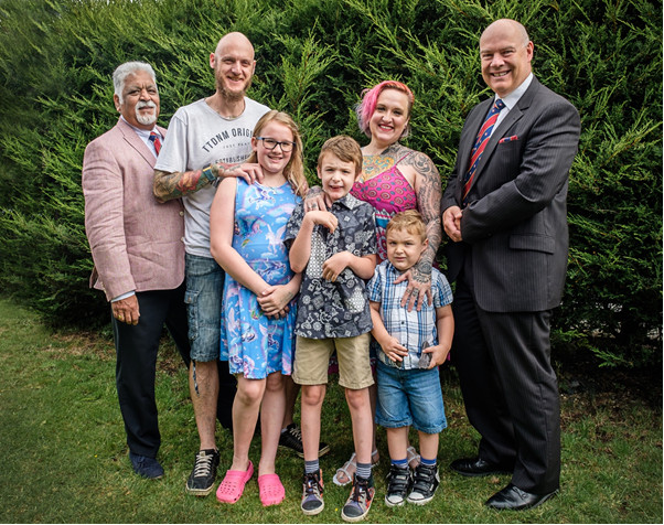 Rochdale Freemasons – Home in to Help Local Family