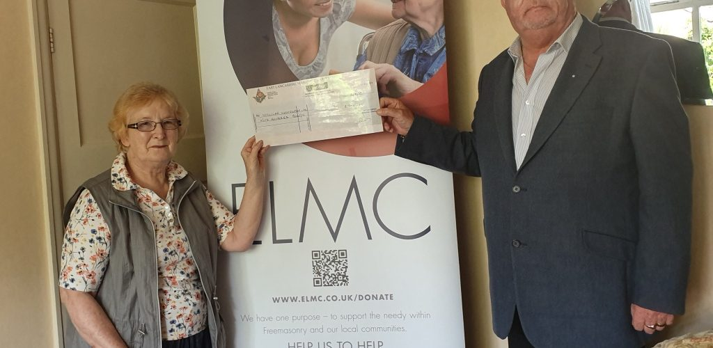 Muscular Dystrophy Charity boosted by local freemasons
