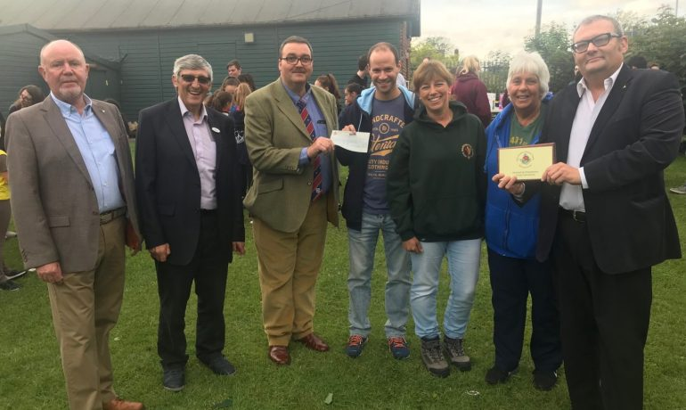 ELMC Donation to Cheetham Scout & Guide Group