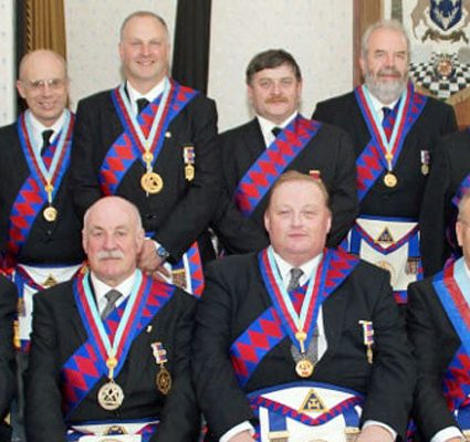 The Presentation Team visit Derbyshire Principals Chapter No 8509