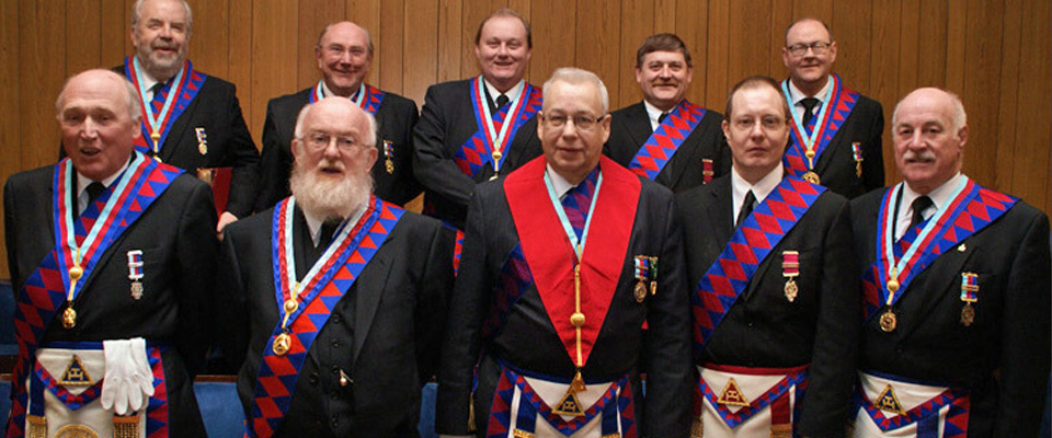 East Lancashire Royal Arch Presentation Team visited the Marquis of Lorne Chapter No 1354