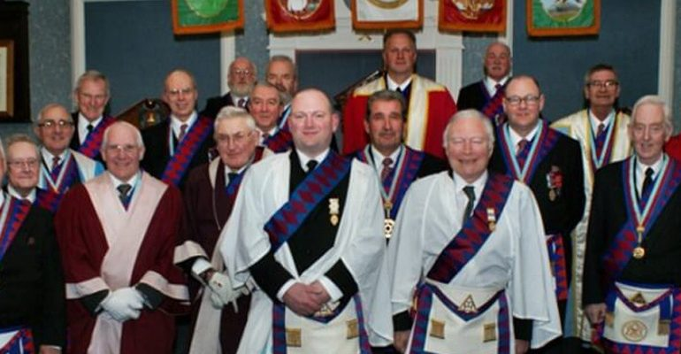The East Lancashire Royal Arch Presentation Team Perform a Double Exaltation at Perseverance Chapter No.300
