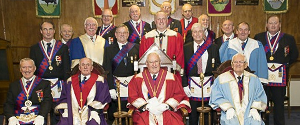 ELRADT Team performs an Exaltation at Egerton Chapter No 1030