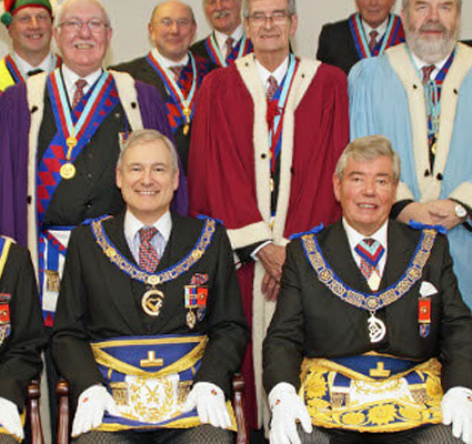 Promoting the Royal Arch in a hosted Craft Meeting with the PGM present.