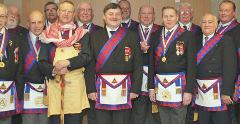 """Master Masons entertained by """"Crafty Companions"""" hosted by Imperial George Chapter at Middleton"""