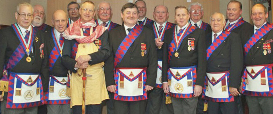 "Master Masons entertained by ""Crafty Companions"" hosted by Imperial George Chapter at Middleton"