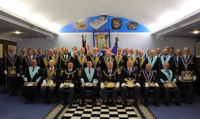 A Norwegian Visitor for Lodge of St John 191