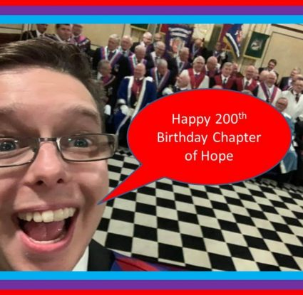 Chapter of Hope No 54 Celebrates 200 years of continuous Royal Arch Freemasonry