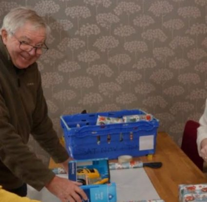 Burnley and Pendle Freemasons Helping to Brighten up a Child's Christmas
