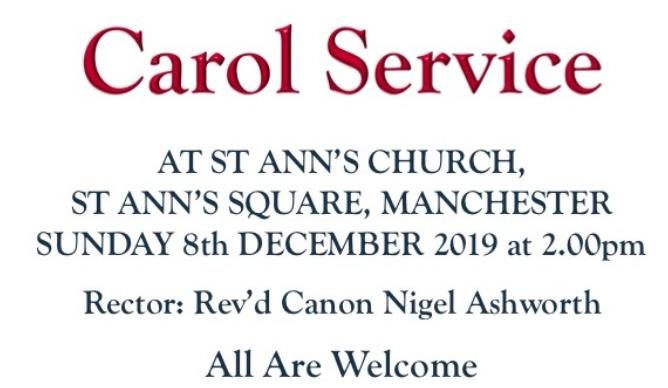 Annual Christmas Carol Service
