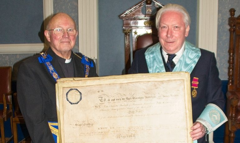 Closure of the Lodge of Fidelity No 430