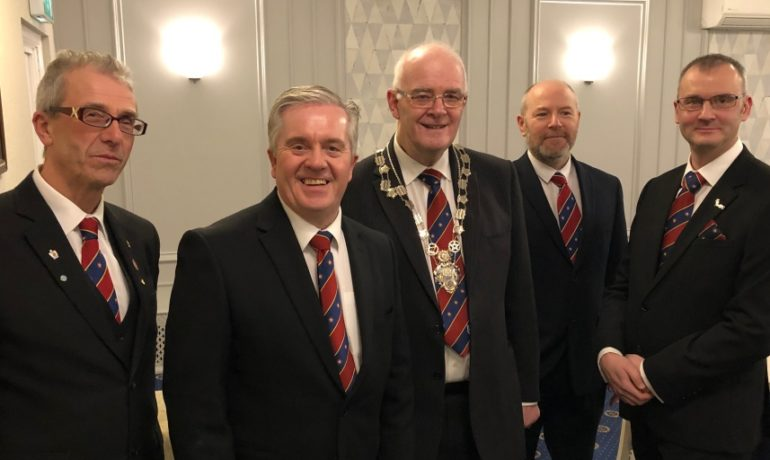 Bury District Masters Support Each Other
