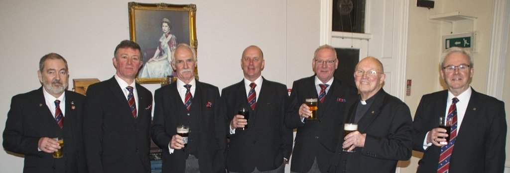 Pastoral Visit to Denton Lodge No 5234
