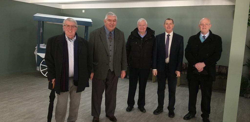 The famous 5 visit Manchester Masonic Hall