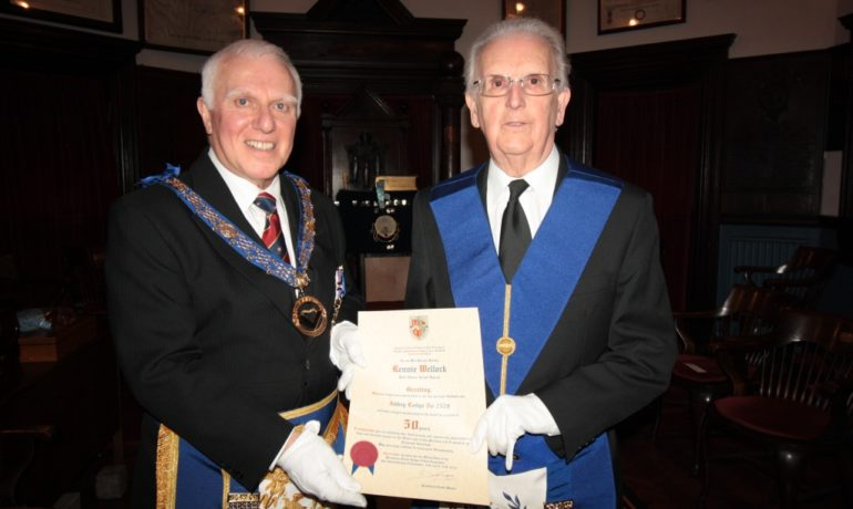 50th Anniversary Celebration of WBro Rennie Wellock PJGD