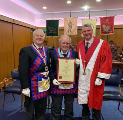Gordon Hunter Celebrates 50 Years in the Royal Arch