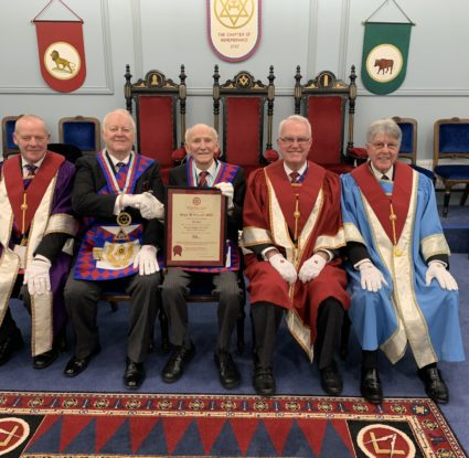 Roger Flitcroft MBE – Golden Jubilee in the Royal Arch