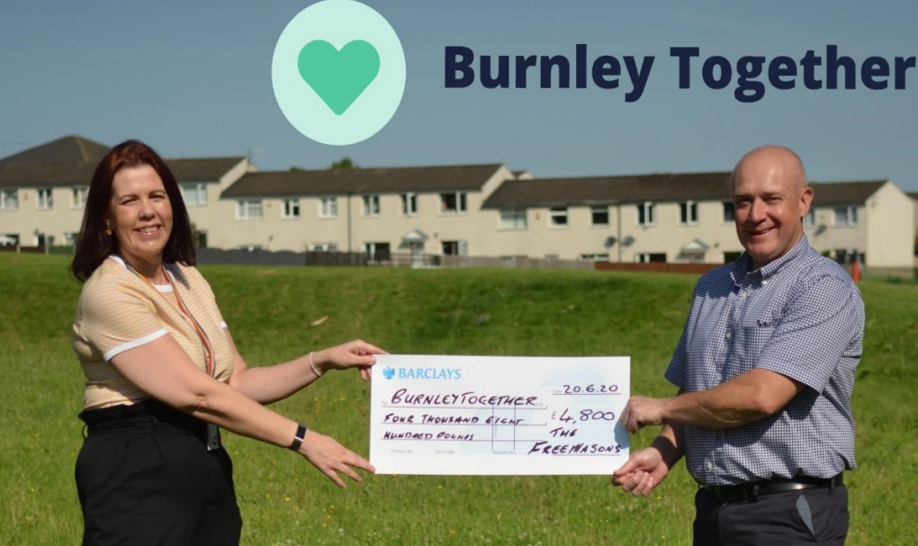 Burnley and Pendle Freemasons in the Community
