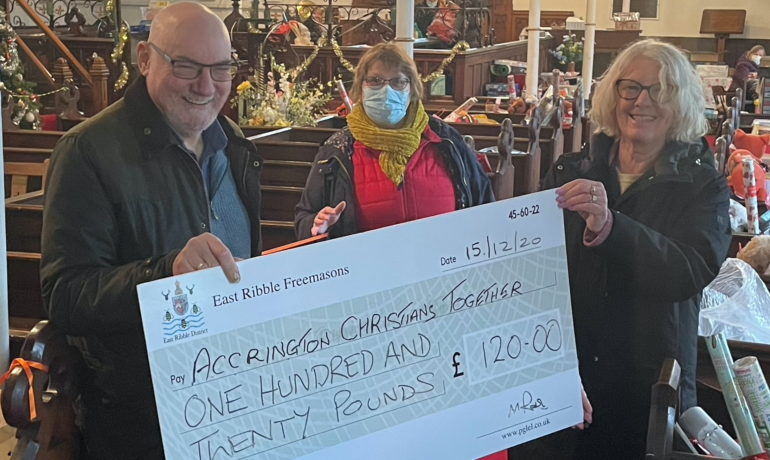 District Quizzes Support ELMC and Local Foodbanks