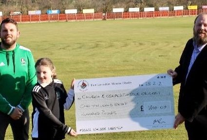 ELMC GRANT FOR CHURCH & OSWALDTWISTLE CRICKET CLUB