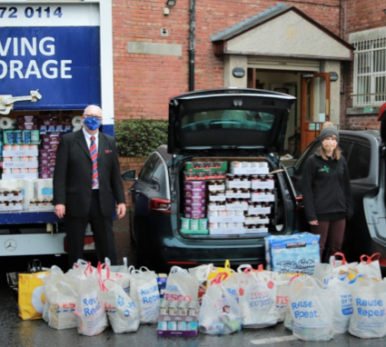 Salford Freemasons Support Salford Food Bank