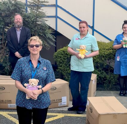 More Teddies for Loving Care and East Lancs Hospital Trust