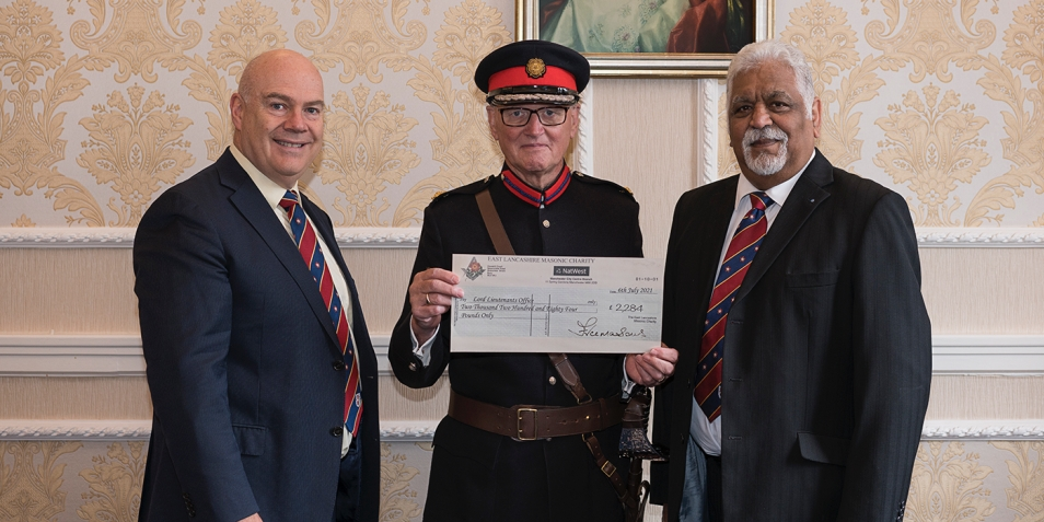Rochdale District Freemasons have teamed up with the Lord Lieutenants office to help our young people.